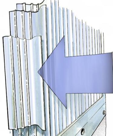 innstikksikker ventilasjonsrist