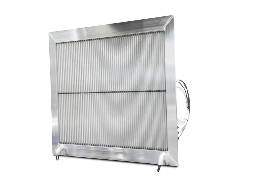 Ventilasjonsrist med varmekabel