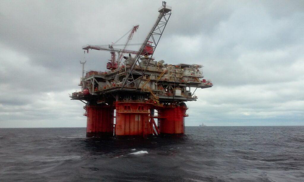 Offshore oljerigg